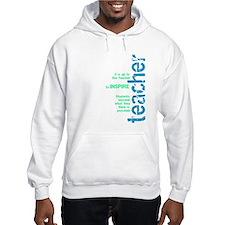 Teacher's Inspire (Blue/Green Hoodie Sweatshirt