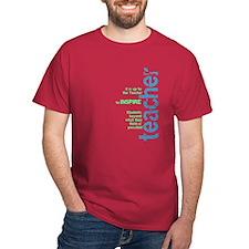 Teacher's Inspire (Blue/Green T-Shirt