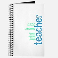 Teacher's Inspire (Blue/Green Journal