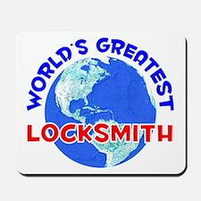 World's Greatest Locks.. (E) Mousepad