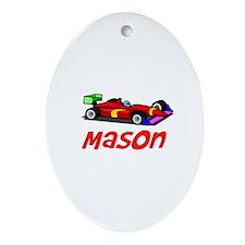 Mason Oval Ornament