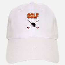 Golf Clubs Baseball Baseball Cap