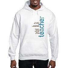 Teacher's Inspire (Blue/Brown Hoodie Sweatshirt