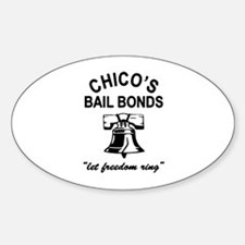 Bad News Bail Bonds Oval Decal