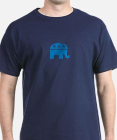 Republican Elephant Logo-Single Color T-Shirt