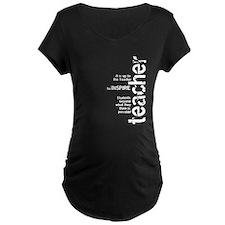 Teachers Inspire (White on Da T-Shirt