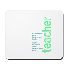If a Child Can't Learn (blue/ Mousepad