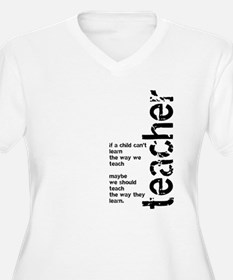 If A Child Can't Learn (Black T-Shirt