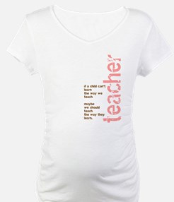 If a Child can't Learn (Pink/ Shirt
