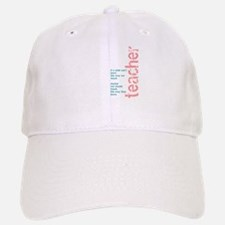 If a Child can't Learn (Pink/ Baseball Baseball Cap