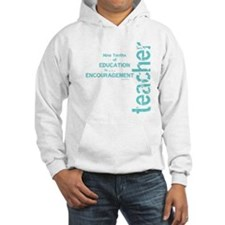 Teacher Encouragement (blue) Hoodie Sweatshirt