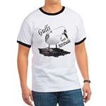 """Gull with Attitude"" Ringer T"