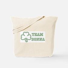 Team Donna Tote Bag