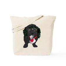 BLACK DOG Tote Bag