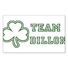 Team Dillon Rectangle Decal