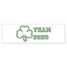 Team Bono Bumper Car Sticker