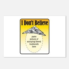 I Don't Believe... Postcards (Package of 8)