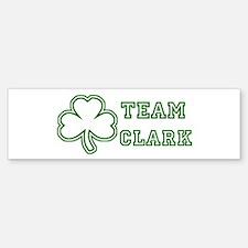 Team Clark Bumper Bumper Bumper Sticker