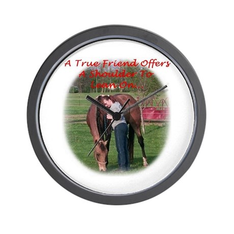 True Friend Collection Wall Clock