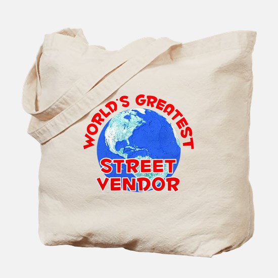 World's Greatest Stree.. (F) Tote Bag
