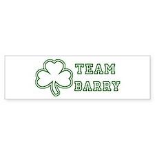 Team Barry Bumper Car Sticker