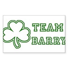 Team Barry Rectangle Decal