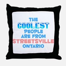 Coolest: Streetsville, ON Throw Pillow