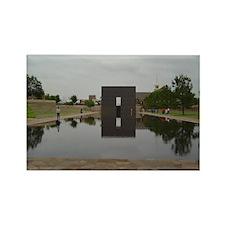 OKC Memorial Rectangle Magnet