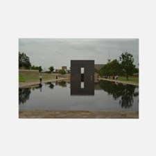 OKC Memorial Rectangle Magnet
