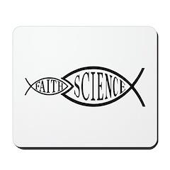 Science Trumps Faith Mousepad