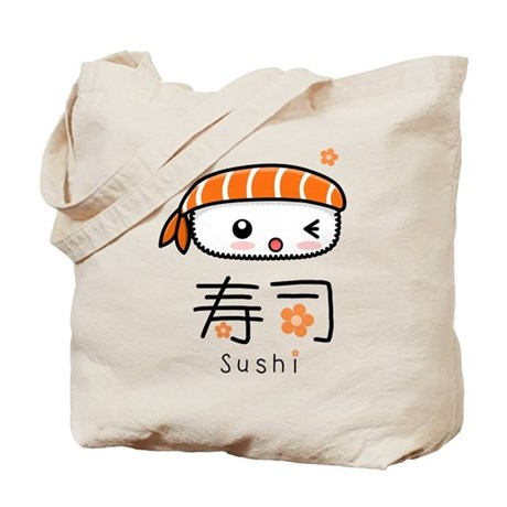 Kawaii Nigiri Sushi Tote Bag