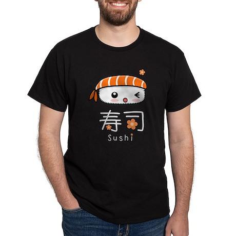 Kawaii Nigiri Sushi Dark T-Shirt