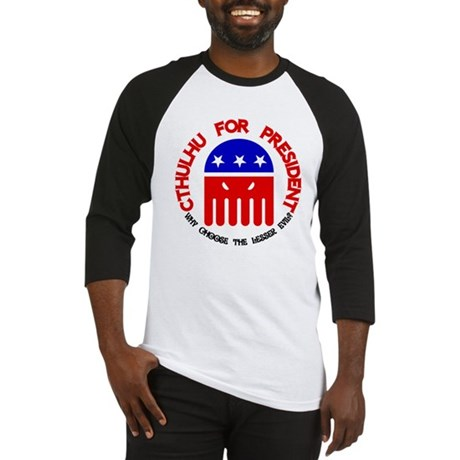 Cthulhu For President Baseball Jersey