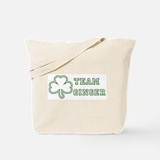 Team Ginger Tote Bag