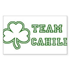 Team Cahill Rectangle Decal