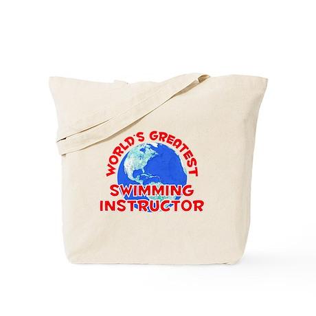 World's Greatest Swimm.. (F) Tote Bag