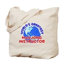 World's Greatest Mahjo.. (E) Tote Bag