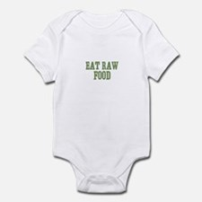 Eat Raw Food Infant Bodysuit