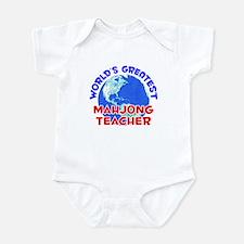 World's Greatest Mahjo.. (E) Infant Bodysuit
