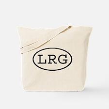 LRG Oval Tote Bag
