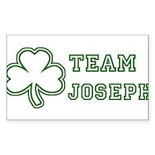 Team Joseph Rectangle Decal