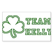 Team Kelly Rectangle Decal