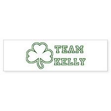 Team Kelly Bumper Car Sticker