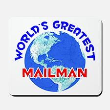 World's Greatest Mailman (E) Mousepad