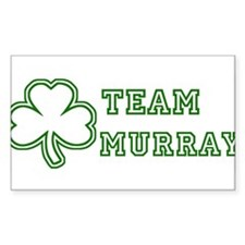 Team Murray Rectangle Decal