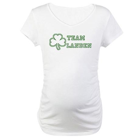 Team Landen Maternity T-Shirt
