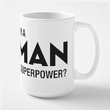 I Am A Woman Large Mug