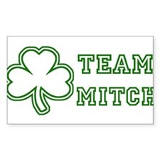 Team Mitch Rectangle Decal