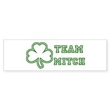 Team Mitch Bumper Car Sticker