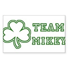 Team Mikey Rectangle Decal
